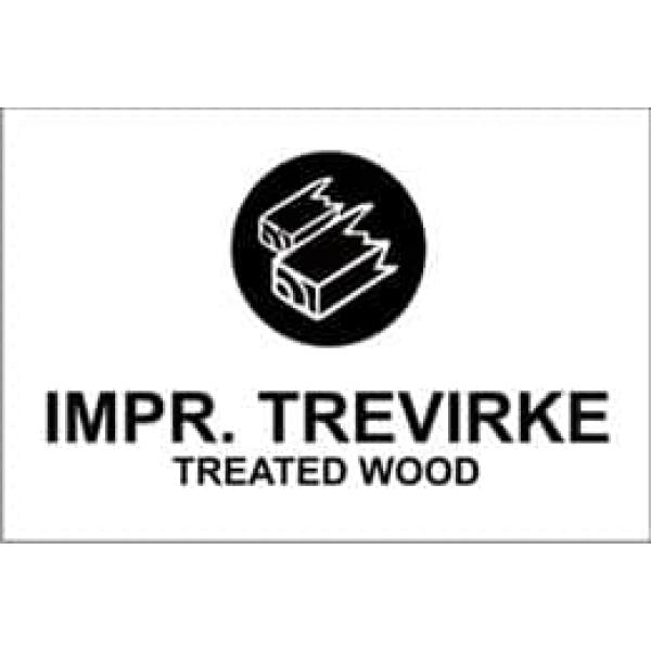 "KILDESORTERING "" IMPR.TREVIRKE"" ENG TEKST, 30X20, 1MM PVC 1"