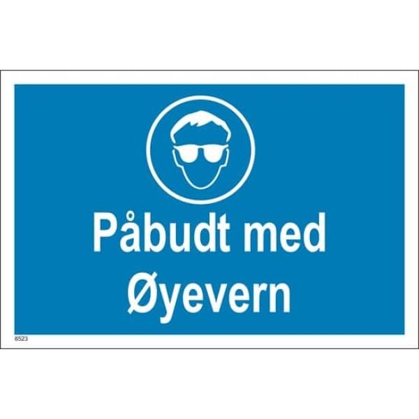 PÅBUDT MED ØYEVERN, 20X30 1