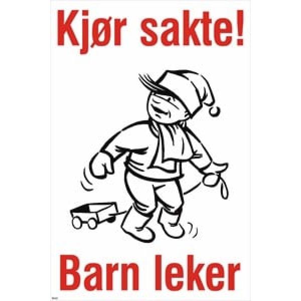 BARN LEKER SKILT 1