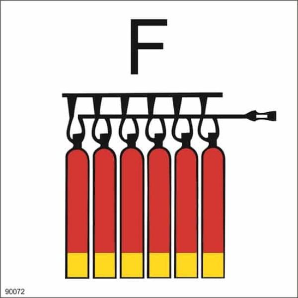 FIXED FOAM FIRE EXTINGUISHING BATTERY, 15X15 1
