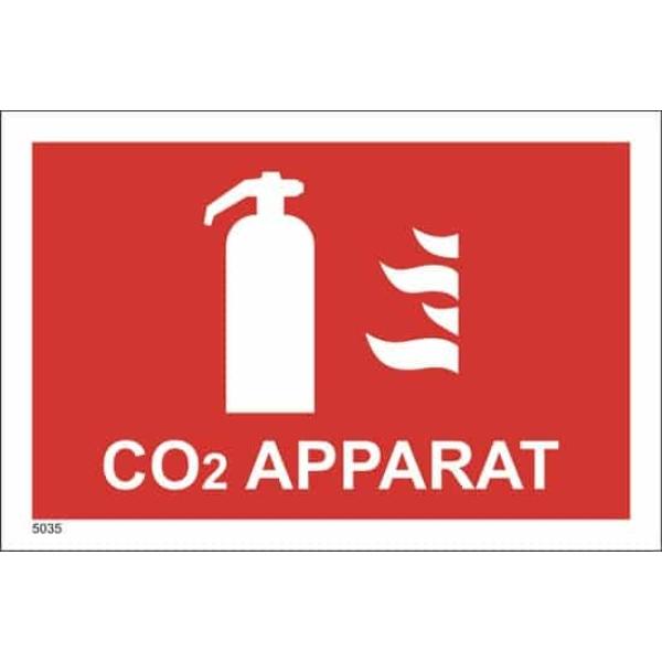 BRANNSKILT CO2 APPARAT, 21X14CM 1