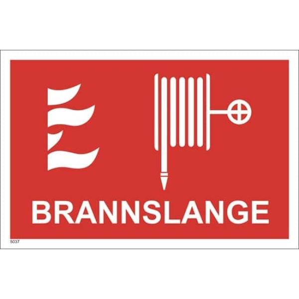 BRANNSKILT BRANNSLANGE, 30X20CM 1