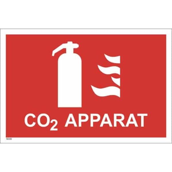 BRANNSKILT CO2 APPARAT, 30X20CM 1