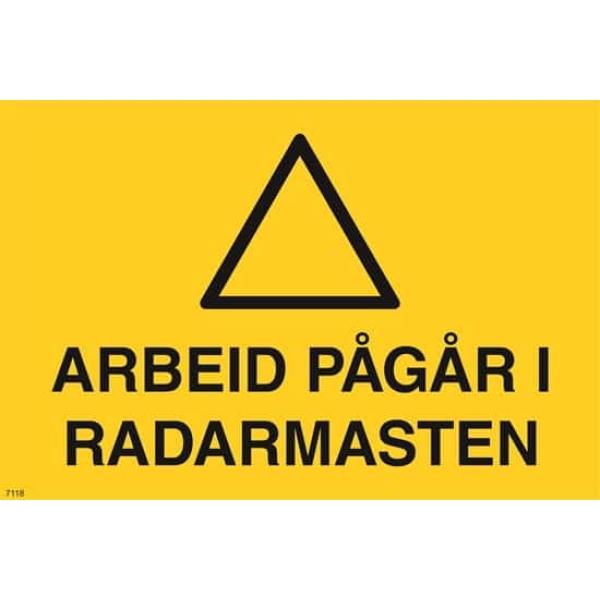 ADV. ARBEID PÅGÅR I RADARMASTEN 30X20 1