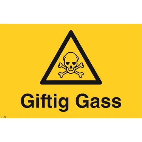 GIFTIG GASS, 20X30 1