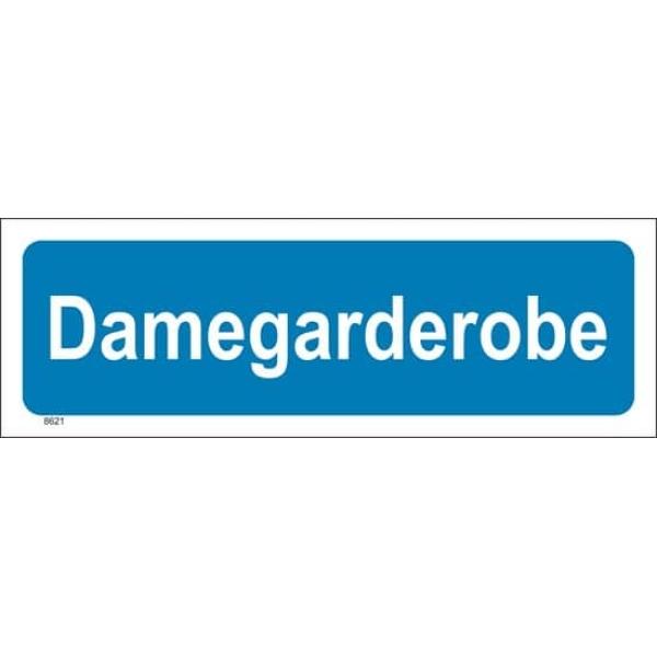 DAMEGARDEROBE 30X10, PVC 1