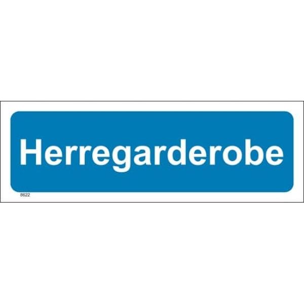 HERREGARDEROBE, 30X10 1