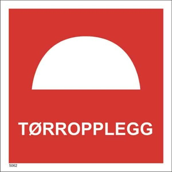 BRANNSKILT TØRROPPLEGG 20X20CM 1