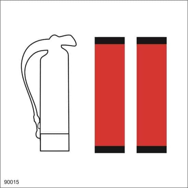 REFILL FOR FIRE EXTINGUISHER, 15X15 1