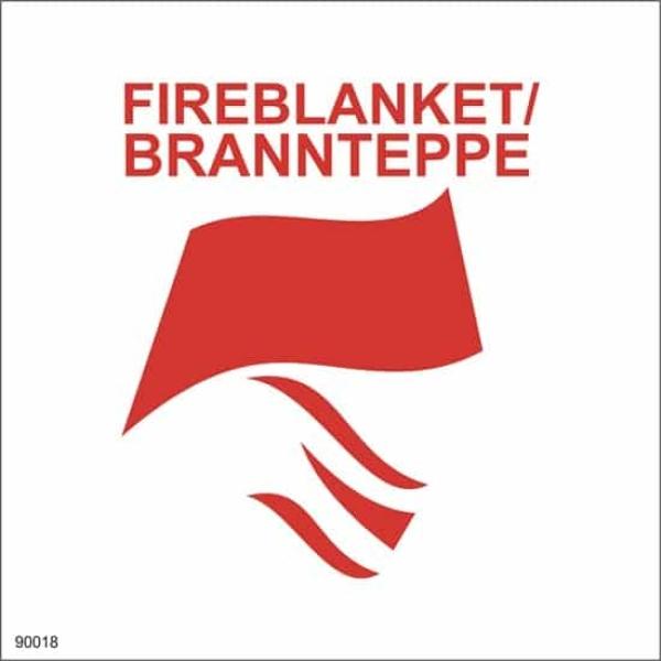 FIREBLANKET - BRANNTEPPE, 15X15. 1