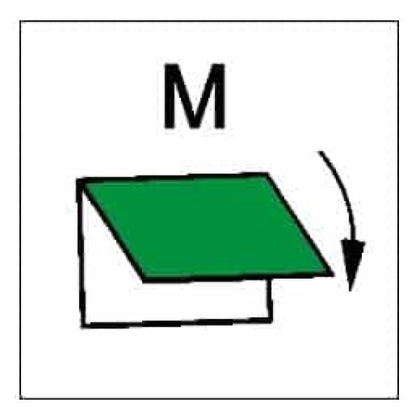 CLOSING DEV.VENTIL.INLET/OUTLET M 1