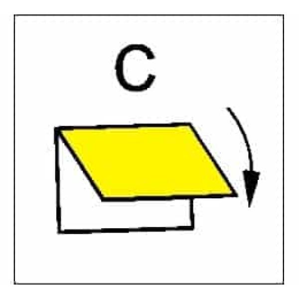 CLOSING DEV.VENTIL.INLET/OUTLET C 1