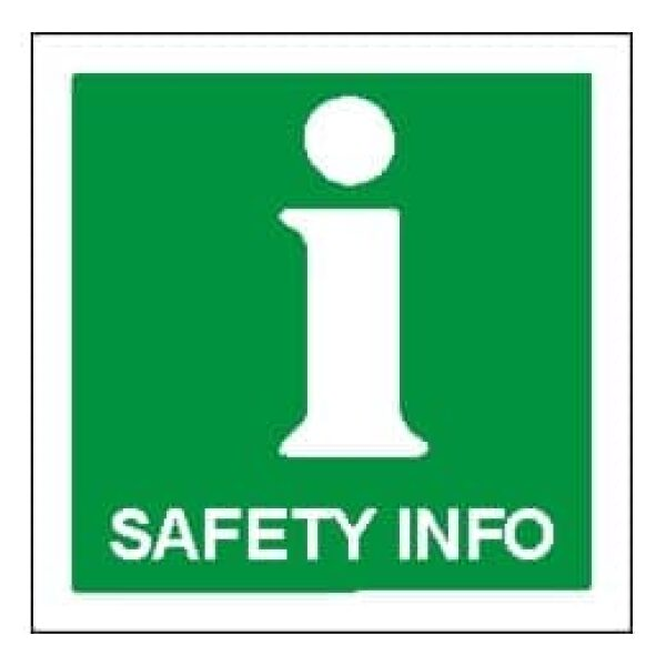 FIRE AND SAFETY INFO. 15X15 ETTERLYSENDE 1