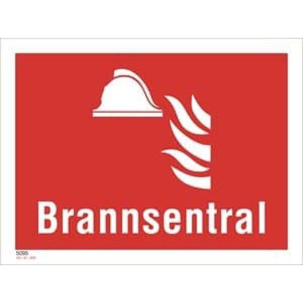 BRANNSKILT BRANNSENTRAL 20X15CM 1