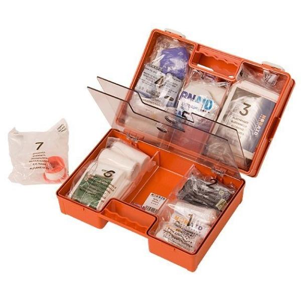 Noraid Medium Førstehjelpskoffert med refillsystem 4