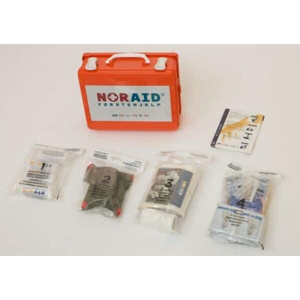 Noraid Liten Førstehjelpskoffert med refillsystem 4