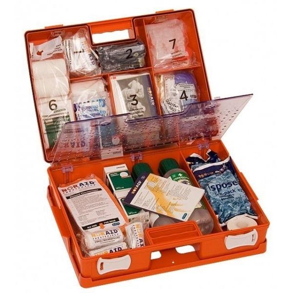 Noraid Stor Førstehjelpskoffert med refillsystem 3