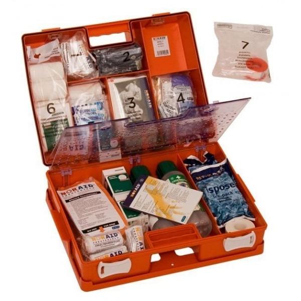 Noraid Stor Førstehjelpskoffert med refillsystem 4