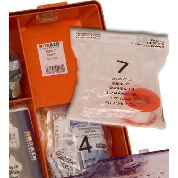 Noraid Stor Førstehjelpskoffert med refillsystem 5