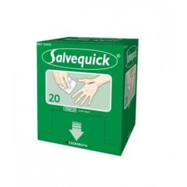 Sårvask Salvequick sårserviett refill 323700 (til 490920) 1