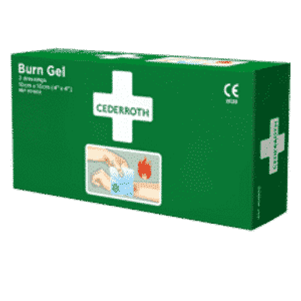 Cederroth brannbandasje 10x10cm 2pk 1