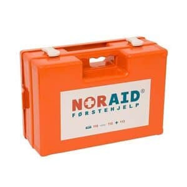 Noraid Medium Førstehjelpskoffert med refillsystem 1